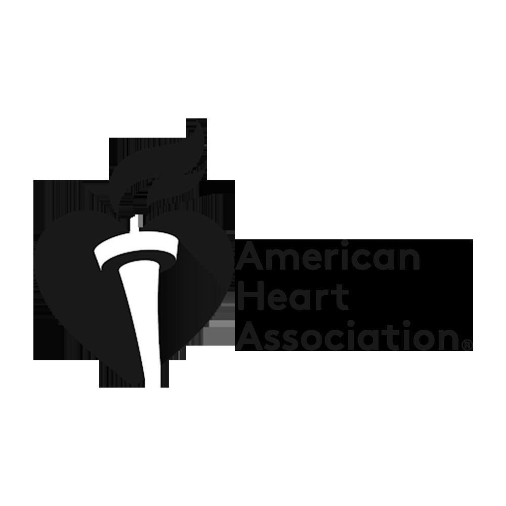 + American Heart ASSC. GREY